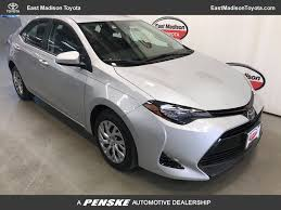 toyota car 2017 2017 used toyota corolla le cvt automatic at east madison toyota