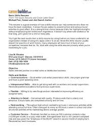 resume skills and abilities exles good skills on resume skills to put on a resume for retail resume
