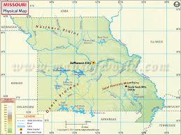 map of missouri map of missouri