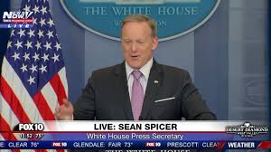 Flying The Flag Upside Down Media Help Reporters Tell Sean Spicer His American Flag Pendant