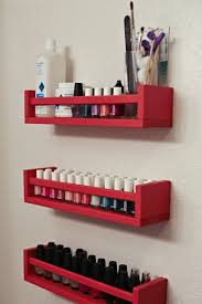 Wooden Spice Rack Wall Home Organization Red Wal Mounted Wood Ikea Spice Rack Design