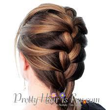 how to braid short hair step by step pretty hair is fun how to french braid your own hair pretty