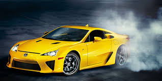 yellow lexus lfa lexus top 8 most expensive makes and models