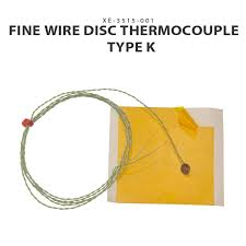 fine wire disc thermocouple iec type k