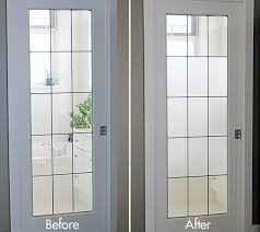 diy frosted glass window tutorial simple projects frosted glass