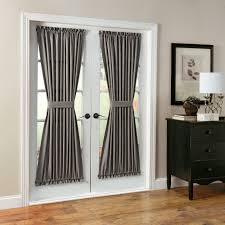 Curtain Drapes Features Casual Woven Fabric Fits Patio French Doors Sold