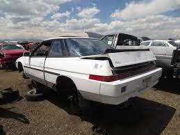 1986 subaru xt junkyard find 1987 subaru xt gl the truth about cars