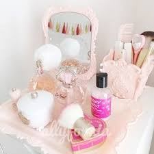 Pink Vanity Set Kawaii Pink Princess Makeup Vanity Set Up Sephora Os From