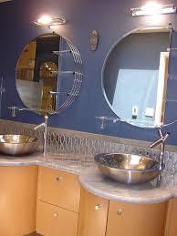 Mid Century Modern Bathroom Vanity Bathroom Midcentury With - Mid century bathroom vanity light