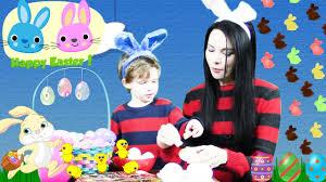 Easter Egg Decorating Videos easter 3 in 1 video easter egg hunt easter egg surprise toys