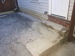 building patio pavers against siding solution home
