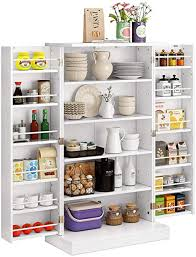 kitchen storage cabinets with doors function home 41 kitchen pantry farmhouse pantry cabinet storage cabinet with doors and adjustable shelves in white