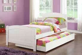 Trundle Bed Frame And Mattress Fair Image Of Small Bedroom Decoration Using White Wood