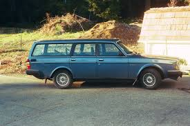 blue volvo station wagon curbside classic 1984 volvo 240gl u2013 sensible luxury