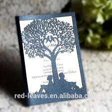 leaves company indian wedding invitations handmade paper