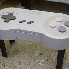 Nintendo Controller Coffee Table Snes Controller Video Game Coffee Tables More