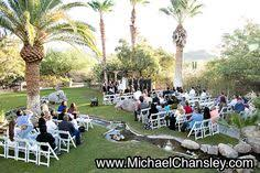 wedding venues in tucson az and groom hold their ceremony at oasis at ranch