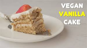 vegan vanilla cake loving it vegan