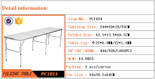 beer pong table size cm 240cm 4 folding beer pong folding table buy folding table legs