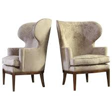 contemporary wing chairs of wing chairs by sputnik modern at 1stdibs