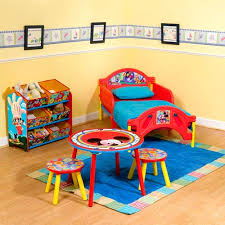 mickey mouse clubhouse bedroom mickey mouse clubhouse room in a box walmart com