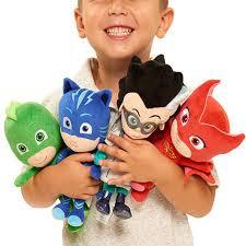 pj masks gekko catboy owlette romeo plush doll toys stuffed soft