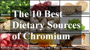 the 10 best dietary sources of chromium youtube