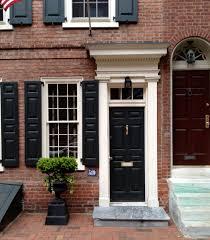 door inspiration philadelphia society hill historic doors and