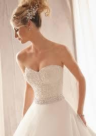sparkly belts for wedding dresses bridal sparkly beaded satin belt style 11053 morilee