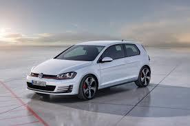 white volkswagen gti 2014 pure white volkswagen mkvii golf gti exterior eurocar news
