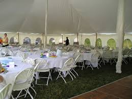 Canopy Tent Wedding by Tents Upstate Party Rental