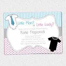 gender neutral reveal baby shower invitations printable little