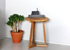 Tripod Side Table Teak Tripod Side Table Side Tables From Ethnicraft Architonic