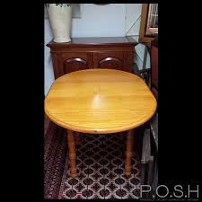 Pine Kitchen Tables And Chairs by Pine Kitchen Table And Chairs 3 Chairs Only Posh Seconds