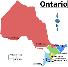 Map Of Canada Cities And Provinces by Ontario Regions Map Map Of Canada City Geography