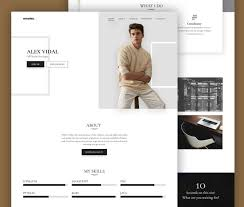 Resume Template Website Resume Template Website 40 Best Cv U0026 Resume Wordpress Themes