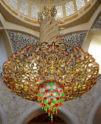 Largest Chandelier Grand Chandeliers Of Sheikh Zayed Grand Mosque Abu Dhabi Flickr