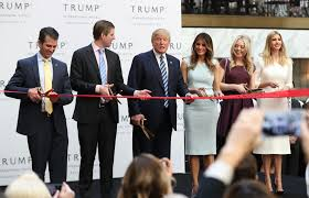 The Trump Family by How The Trump Family Will Profit From Their Father U0027s Presidency