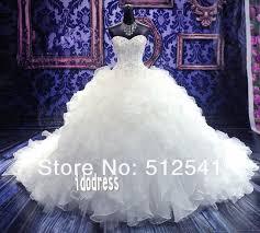 online shop ivory wedding dresses 2015 ball gownhot sweetheart