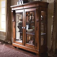 Wooden Cabinet With Glass Doors Brown Wooden Cabinets With Glass Doors Also Glass Handler