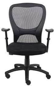 Black Mesh Office Chair Boss Mesh Office Chair B6508 Office Chairs Outlet