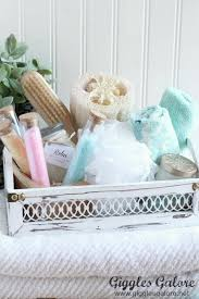 spa gift basket diy bath salts spa gift basket