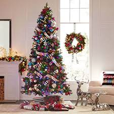 9 foot christmas tree member s 9 color changing virginia pine christmas tree