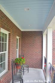 Front Porch Flag Pole Vinyl Porch Ceiling Material Options Materials 5 Painted Life On