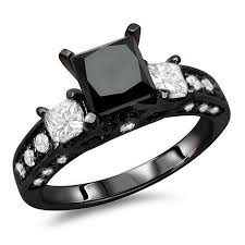 Black Diamond Wedding Rings by 12 Best Gothic Engagement Rings Images On Pinterest White Gold