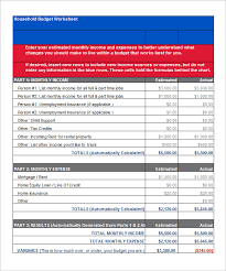 budget template u2013 41 free word excel pdf format download