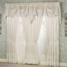 Dining Room Window Valances Trousseau Lace Curtains Valance Window And Window Coverings