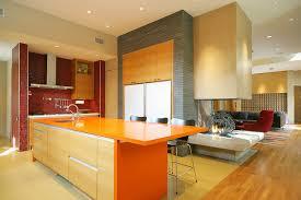 kitchen color orange kitchen color houzz