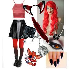 foxy costume my costume foxy fnaf polyvore