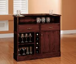 stylish brown wall in bookcase home bar designs ideas house bar